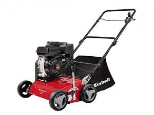 Scarificateur à essence moteur 4 temps pas cher Einhell GC-SC 2240 P avec bac ramassage