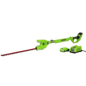 Taille haie télescopique Greenworks Tools