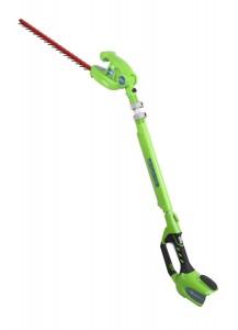 Taille-haie télescopique Greenworks Tools