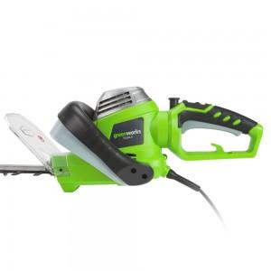 Utilisation du taille-haie GreenWorks Tool 22087