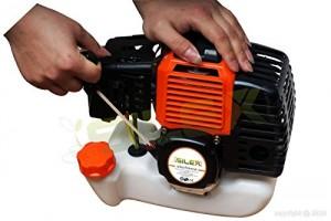 Montage démarrage débroussailleuse thermique Silex TT-BC520