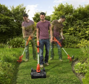 Outil de jardin multifonction coupe-bordure tonte Black and Decker