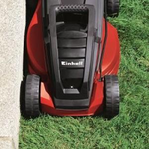 Tondeuse pelouse et bordures pas chère Einhell GE-EM 1233 utilisation