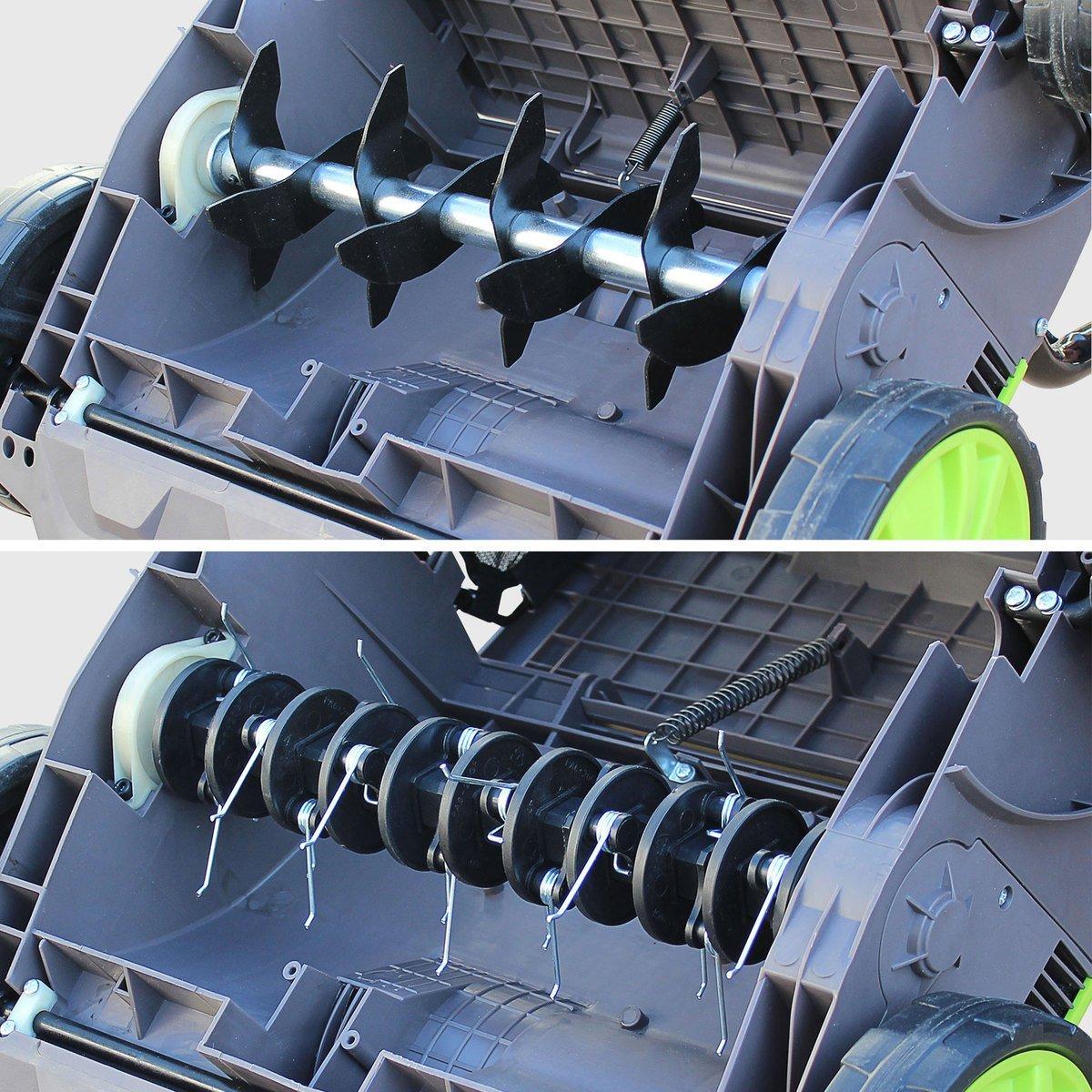 Scarificateur électrique 2 en 1 VOLTR : fiche-conseil - Débroussaillez