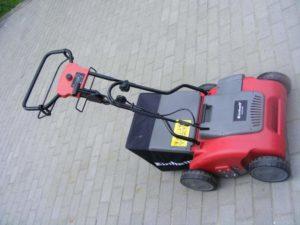Conseils utilisation et caractéristiques techinques scarificateur Einhell RG-ES 1639
