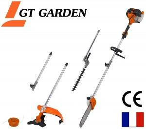 Débroussailleuse multifonction 4 en 1 GT Garden