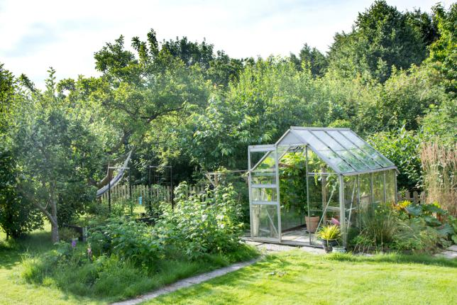 Installer une serre dans un jardin