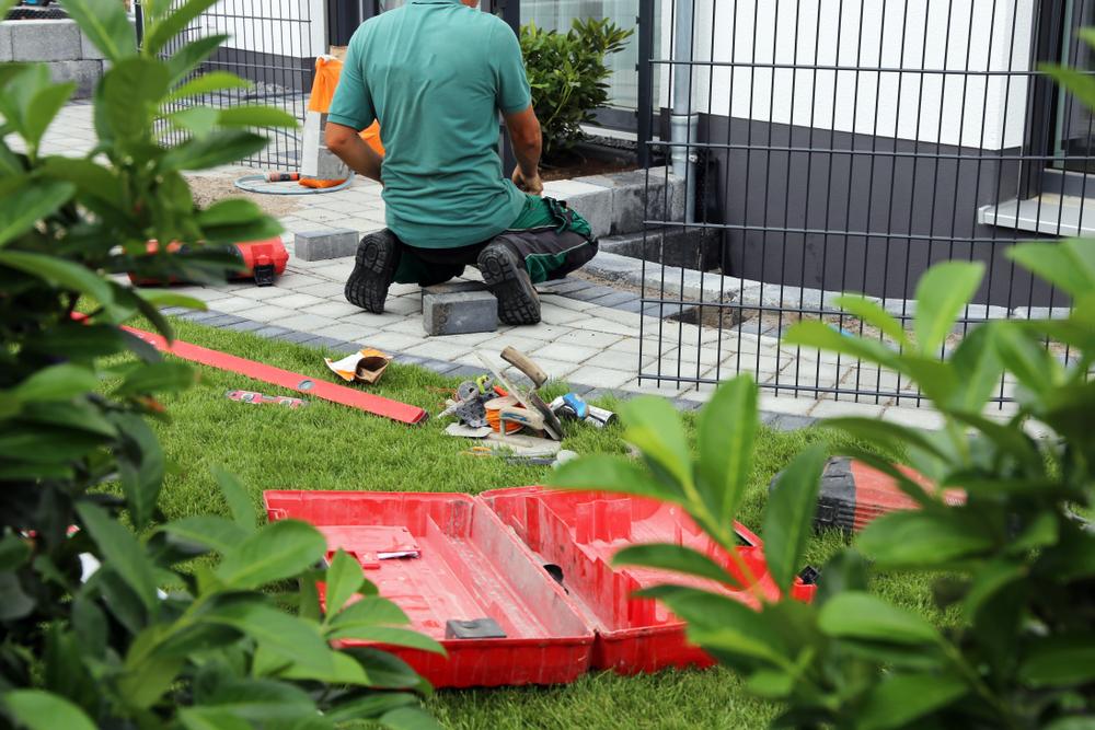 Maçonnerie dans la création de jardin