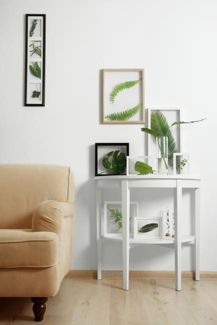 Exemple de décor intérieur herbier